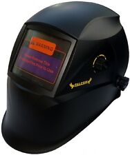 Auto Darkening Solar welders Welding Helmet Mask with Grinding Mode H12 BLACK