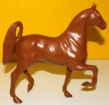 HARTLAND VINTAGE TAN WOODCUT HORSE W/FANCY TAIL GREAT