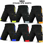 MTB Cycling Shorts Off Road Shorts Downhill Unisex Design Black Size S to XXL