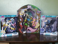 **GUARDIANS OF HARMONY** set MLP:FiM - SDCC Discord, Celestia & Nightmare Moon!!