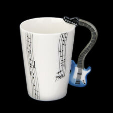 Coffee Mugs Gift Music Guitar Notes Handle Tea Coffee Milk Ceramic Mug Cup