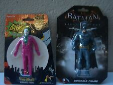 Batman & Joker Bendable Figures New and Sealed
