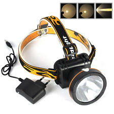 Rechargeable 5W LED Miner Light Headlight Mining Lamp Hunting Fishing Headlight