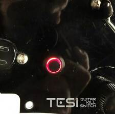 Tesi POCO 12MM LED Momentary Guitar Kill Switch Black / Red