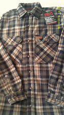 FIVE BROTHERS MEN HEAVY WEIGHT FLANNEL SHIRT SIZE LR NEW