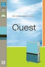 NIV QUEST STUDY BIBLE - ZONDERVAN PUBLISHING HOUSE (PAPERBACK) NEW