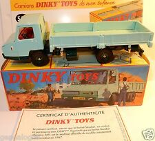 DINKY TOYS ATLAS CAMION BERLIET STRADAIR BENNE BASCULANTE 1/43 REF 569 IN BOX