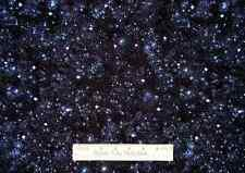 Starry Night Space Fabric ~ 100% Cotton By The Yard Retired ~ Star Night Sky