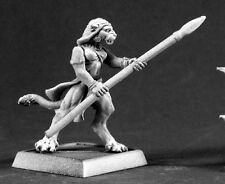 Daughter of Sekhmet Nefsokar Reaper Miniatures Warlord Warrior Fighter Melee Cat