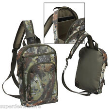 Camo Compact Day Trips Tablet Sleeve Polyester Camo Slim Sling Bag - AP4355