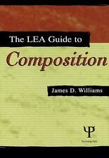 The Lea Guide To Composition, Williams, James D., Good Book