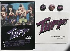 "TUFF ""The Roxy"" DVD w/VAIN +CD ""The Glam Years"" Hairbands 80s Ratt Poison Motley"