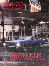 Chevelle, El Camino, Monte Carlo-Year One, Fall '97, Catalog RO497-Restoration P