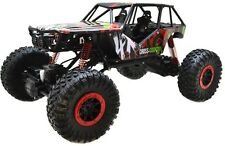 Radio Remote Control RC Car 1/10 Scale 2.4Ghz 4 Wheel Drive Rock Crawler Toy Red