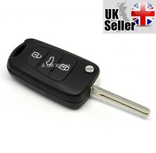 "KIA Ceed Ceed Pro RIO Sportage 3 Button KEY FOB REMOTE CASE SHELL ""WITH LOGO"""