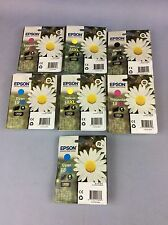 Epson Ink Cartridges 18XL Black, Magenta, Cyan, Yellow And Black Ship Worldwide