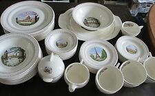 Consolidated Home Equipment Capitols of Freedom Plates Bowls Total 51 Pieces