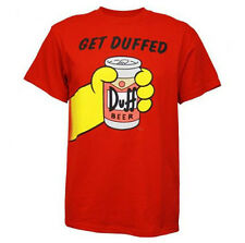 The SIMPSONS - Get Duffed:T-shirt - NEW - MEDIUM ONLY