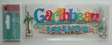 ~CARIBBEAN ISLANDS~ Jolee's Boutique Dimensional Stickers CRUISE Bahamas Jamaica