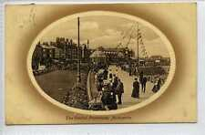 (La1119-180) The Central Promenade, Morecambe Used 1911 VG
