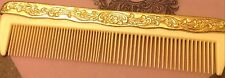 LAST CHANCE: Vintage Hair Comb For Your Dresser Or Vanity Gold