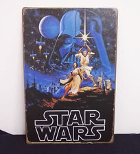 STAR WARS the Classic Movie Tin Sign Metal Wall Decor Display Collectible Gift