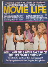 Movie Life Magazine January 1972 Lawrence Welk Lennon Sisters Dean Martin