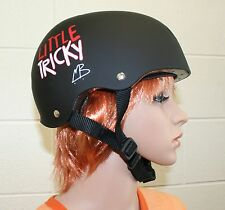 Triple 8 - Little Tricky - BLACK -Dual Certified Youth skate Helmet with EPS JR