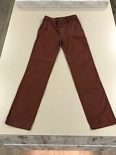 "BURBERRY BOYS JEANS ~ Age14 Yrs 164cm L30""~ Brown ~ *FANTASTIC CON* RRP £105"