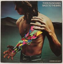 Back To The Bars  Todd Rundgren  Vinyl Record