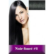 50, 100 EXTENSIONS POSE A CHAUD CHEVEUX 100% NATURELS REMY HAIR 49 CM 0.5g 1 g