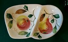Fratelli Fanciullacci Elbee vintage hand painted serving dish 1950s