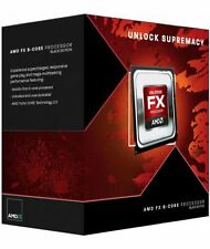 AMD FX 8350 8 Core 4.0GHz 16.0MB AM3+ Socket (FD8350FRHKBOX) Black Edition