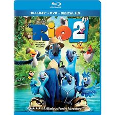 Rio 2 (Blu-ray/DVD, 2014, 2-Disc Set, Includes Digital Copy) NEW