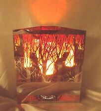 Forest Firebox Lamp -  Silk Flame Lighting - lamp - Fire lamp , fireplace,