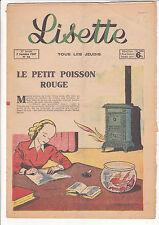 LISETTE N°36 du 7 septembre 1947 BUSSEMEY MIXI-BEREL SOURIAU ROB VEL