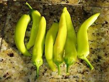 Pepper Seeds - HUNGARIAN YELLOW HOT WAX - Canary Yellow Chili - 20 Seeds