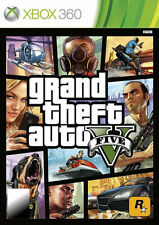 Grand Theft Auto V 5 Five XBOX360 Games Microsoft New