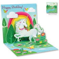 3D Greeting Card by Up w/ Paper - UNICORN - #UP-WP-1062
