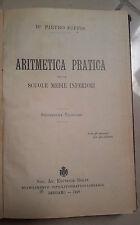 ARITMETICA PRATICA BIFFIS 1923