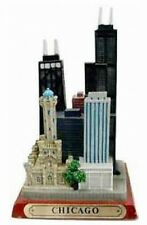 CHICAGO Sears Tower Hancock Center,12 cm Poly Souvenir Modell USA Amerika