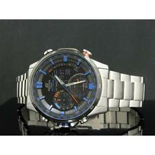 CASIO EDIFICE, ERA300DB ERA-300DB-1A2V, SENSORS, SUPER ILLUMINATOR, BLACK x BLUE