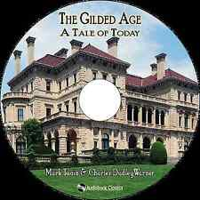 The Gilded Age: A Tale of Today - Unabridged MP3 CD Audiobook in paper sleeve