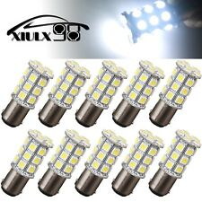 10 PCS Ultra White BA15D -27-SMD 5050 LED Light bulbs Boat Camper RV Light 194