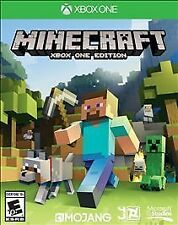 **MINECRAFT XBOX ONE EDITION (XBOX ONE, 2014) (9884) -FACTORY SEALED **