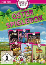 Oster spielebox jeux collection pc cd-rom