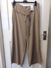 BNWT - light brown lightweight flares trousers from Evans - Size 18