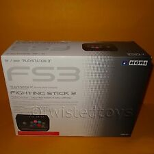 PLAYSTATON 3 PS3 HORI FS3 FIGHTING STICK ARCADE FIGHTSTICK CONTROLLER BOXED