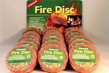 18 PK FIRE STARTER DISK WATERPROOF CEDAR EMERGENCY USE WITH HEXAMINE ESBIT STOVE