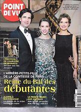 POINT DE VUE N° 3567--COMTESSE DE PARIS/CHARLENE MONACO/PRINCE HARRY